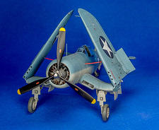 Tamiya 1/ 48 F4U-1 Corsair - by Pete Willstein - Ridge, New York