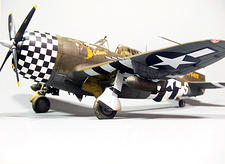 Tamiya 1/72 P-47D Razorback - by Dario Guiliani - Brooklyn