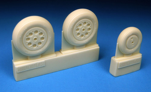 BR48304 Meteor Mk. 8 Main and Nose Wheel Set