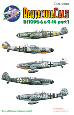 BC72232  Bf 109G-6 and G-14 Part 1