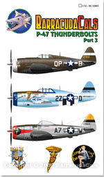 BC32003 P-47 Thunderbolts - Part 3 - 1/32 Scale