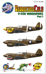 BC32006 P-40E Warhawks - Part 1 - 1/32 Scale