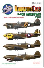 BC72006 P-40E Warhawks - Part 1 - 1/72 Scale