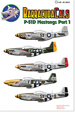 BC48011 P-51D Mustangs - Part 1 - 1/48 Scale