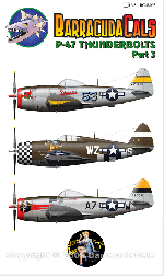BC72003 P-47 Thunderbolts - Part 3 - 1/72 Scale