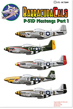 BC72009 P-51D Mustangs - Part 1 - 1/72 Scale