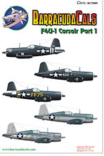 BC72010 F4U-1 Corsair - Part 1 - 1/72 Scale